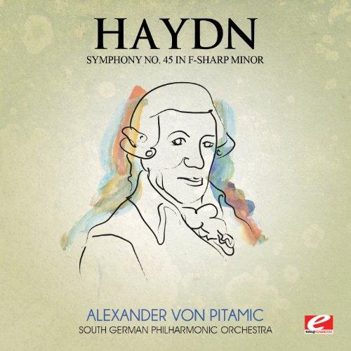 """Symphony No. 45 in F-Sharp Minor """"Farewell"""": V. Finale: Adagio"""