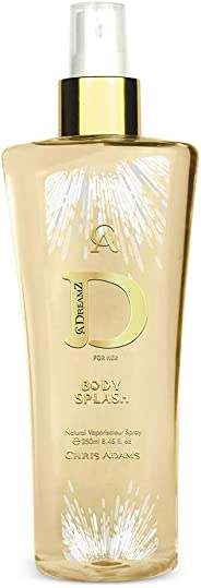 Chris Adams Perfumes Dreamz Woman Bodysplash For Women, 250 ml