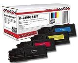 4 x kompatibler Toner für Dell C2660 C2660dn C2660dnf C2665 schwarz cyan magenta gelb