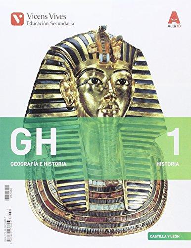 GH 1 (1.1-1.2)+ CAST Y LEON SEP GEO+HIST (AULA 3D): GH 1. Castilla Y León. Libro 1,2 Y Separata Geografía, Historia. Aula 3D: 000004 - 9788468238425 por Abel Albet Mas