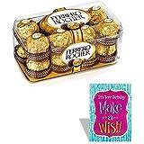 SFU E Com Ferrero Rocher 16 Pieces With Birthday Card