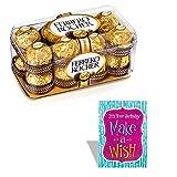 #3: Ferrero Rocher 16 Pieces With Birthday Card