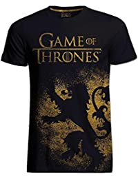 Game of Thrones Official T Shirt Distressed Lion Jumbo House Lannister All Sizes
