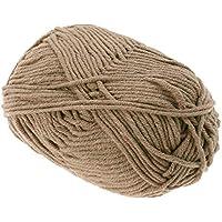 50g Aguja Fieltro Lana Aguja Fieltro Roving Chunky Crochet Hilo de Lana de Tejer Hilo Suave para suéteres Sombreros Bufandas DIY