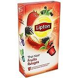 Lipton thé fruit rouge x10 Envoi Rapide Et Soignée ( Prix Par Unité )