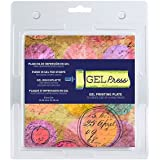 Gel Press GEL10800 Plaque de Gel, Transparent, 15 x 15 cm