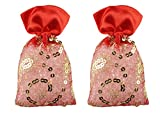 Miracle Perfume Potli. Rose Kesar Chandan Fragrance. Air Freshener (50g, Set of 2pcs)
