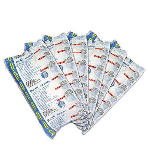 HUMYDRY® Lote 6 recambios Antihumedad 1kg Bolsa deshumidificador