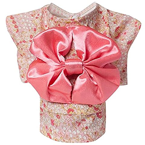 Beetest-Cute Japanese Kimono Style Apparel Costume Pet Clothes for Dog Puppy Cat Skirt Dress Clothing Pink Size XS