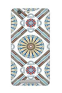 ZAPCASE PRINTED BACK COVER FOR GIONEE MARATHON M5 - Multicolor