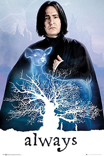 Close Up Poster Harry Potter - Snape/Always...