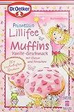 Dr. Oetker Prinz.Lillifee Muffins Vanille, 6er Pack (6 x 397 g Packung)