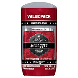 Old Spice Red Zone Collection Invisible Solid Scent Mens Anti Perspirant And Deodorant, Swagger, 5.2 Ounce