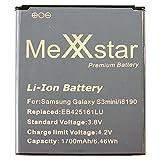 MeXXstar Premium Battery für Galaxy Galaxy S3 mini, Ace 2 (1700mAh / 6,46Wh) EB425161LU/EB-F1M7FLU