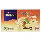 Meßmer Apfel/Vanille Tee 20 TB, 2er Pack (2 x 55 g Packung)