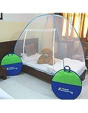 Classic Mosquito Net Foldable Blue SizeSingle Bed