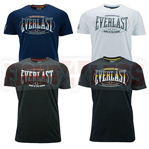 everlast-t-shirt-est-1910-kampfsport-boxen-shirt-s-m-l-xl-schwarz-navy-weiss-grau-charcoal-grau-xl