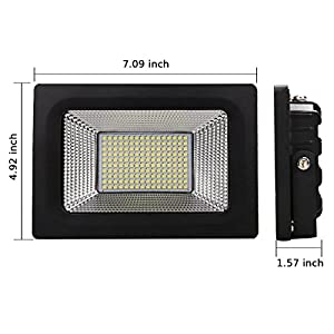 Lantoo 220V Optional Watts LED Flood Lights Outdoor Security Lights Day White Ultra Bright Spot Lamp Floodlight IP65 Waterproof Security Outdoor Lamps by Lankdeals