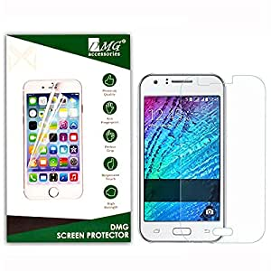 Dmg 2.5D Bubble-Free Tempered Screen Protector For Samsung Galaxy J1 (No Fingerprints Anti-Scratch Oil Coated Washable)