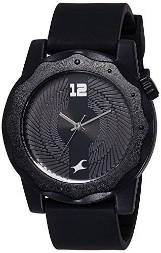 Fastrack Analog Black Dial Men's Watch - 38022PP03