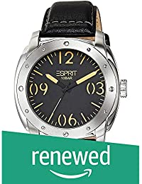 (Renewed) Esprit Analog Black Dial Mens Watch - ES106381001#CR
