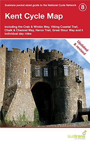 Kent Cycle Map: Including the Crab & Winkle Way, Viking Coastal Trail, Chalk & Channel Way, Heron Trail, Plus Five Individual Day Rides (CycleCity Guides) -