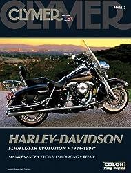 Harley Davidson 1340 FLH/FLT/FXR All 1984-98 (Clymer Motorcycle Repair)