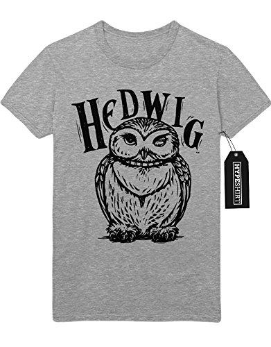 """T-Shirt Harry Potter Phantastische Tierwesen und wo sie zu finden sind """"HEDWIG"""" C980153 Grau"""