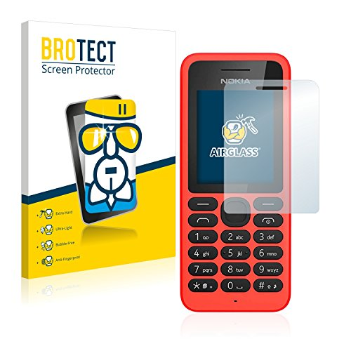 BROTECT Pellicola Vetro Compatibile con Nokia 130 - Vetro Prottetivo, Flessibile 9H, AirGlass