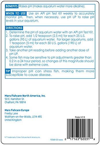 API pH UP Freshwater Aquarium Water pH Raising Solution 16-Ounce Bottle 3