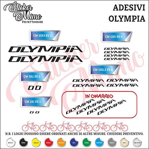 Stickers Aufkleber Aufkleber Aufkleber Sticker Set Olympia Logo 14+4 Teile kompatibel