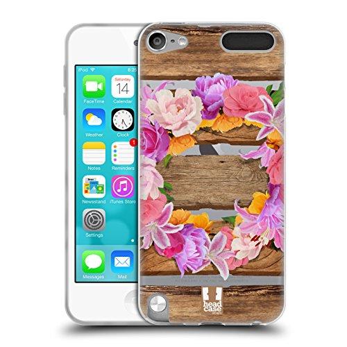 Head Case Designs Kranz Holz und Blumenbilder Soft Gel Hülle für Apple iPod Touch 5G 5th Gen (Soft Touch Kranz)