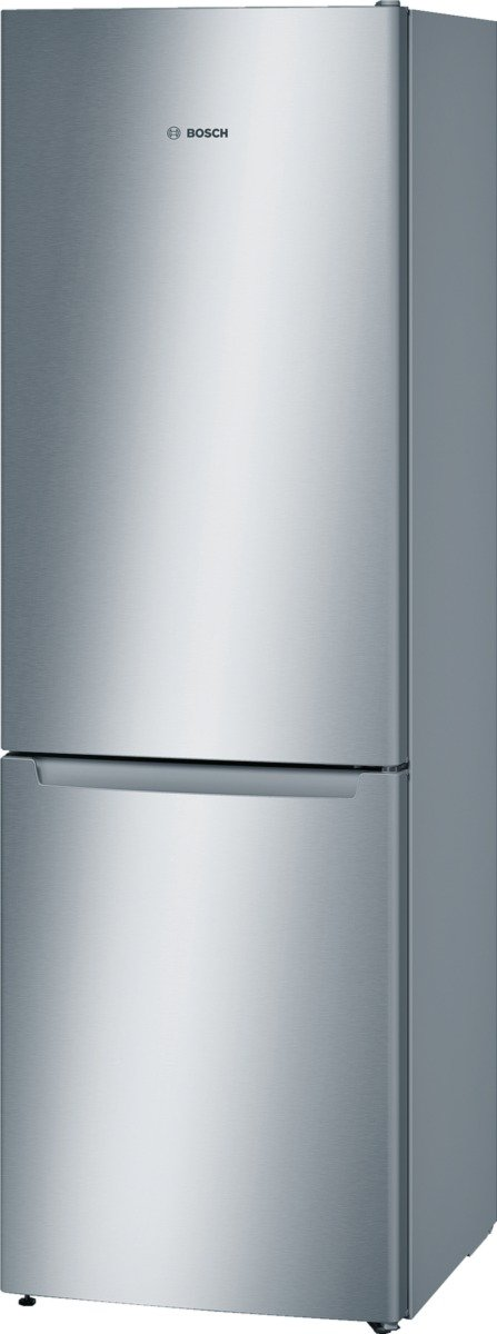 Bosch KGN36NL30 Serie 2 Freistehende Kühl-Gefrier-Kombination / A++ / 186 cm / 235 kWh/Jahr / Inox-look / 215 L Kühlteil…