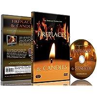 Weihnachten - Kamine & Kerzen mit Klaviermusik und dem knistern von brennendem Holz