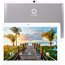 """Nuevo Tablet Artizlee ATL-31, 10.1"""" 4G Tablet Pc (Android 6.0, Octa Core, FHD 1920x1200 IPS, Dual Sim, 2GB RAM, 32GB, Cámara 5.0MP, WiFi, Bluetooth, GPS, OTG) Blanco, 2017 Versión Actualizada"""