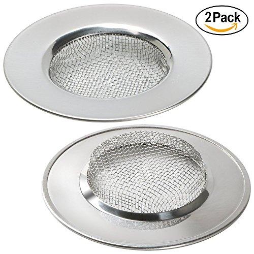 Abflußsieb Edelstahl Küche Waschbecken Spüle Sieb Abfluss-Sieb 7.7 CM Satz von 2