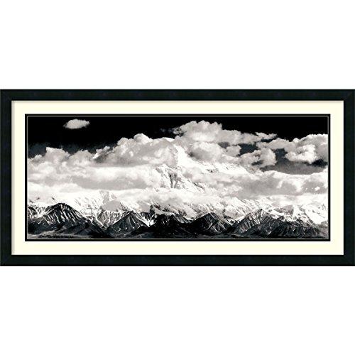 Mount McKinley Range, Wolken, Denali-Nationalpark, Alaska, 1948von Ansel Adams