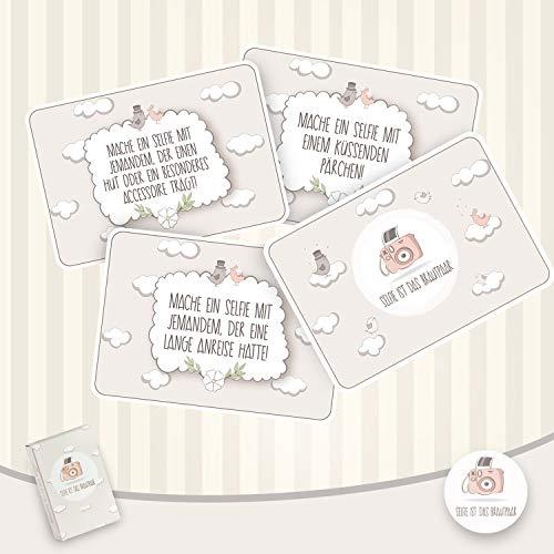 Hochzeitsspiel   Box mit kreativen und lustigen Fotoaufgaben - 3