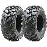 2 - Quad neumáticos 26X9-12 neumáticos de ATV 6ply 7psi 26 9,00 12 E neumáticos legales marcada por carretera