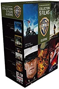 90 ans Warner - Coffret 5 films - Guerre + 1 magnet collector « Les Bérets Verts » offert [Blu-ray] [Édition Limitée]