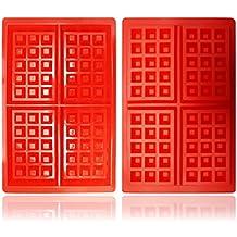 MYNC – Reino Unido Diseño Fondant de silicona forma Rectangular molde moldes para hornear postres DIY