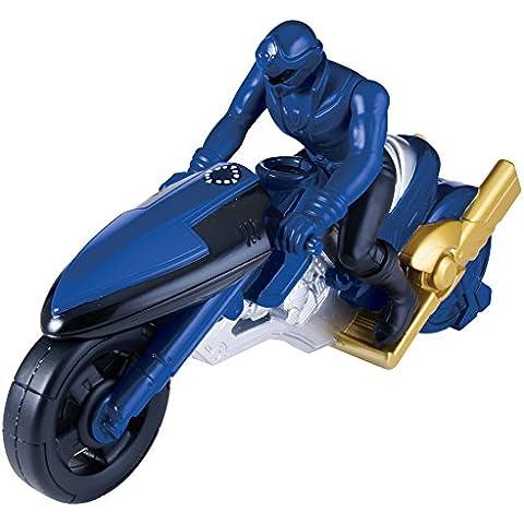 Power Rangers Súper Megaforce - Moto de ataque, color azul (Bandai 38072)