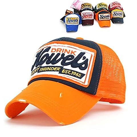 niki-orange - Casquette de Baseball - Homme Orange orange taille