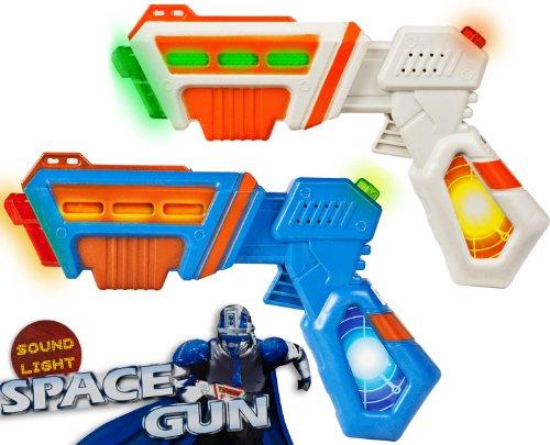 Spielzeug-Pistole Laser-Pistole Licht-Pistole SPACE-GUN mit Licht und Sound (Space Gun-spielzeug)