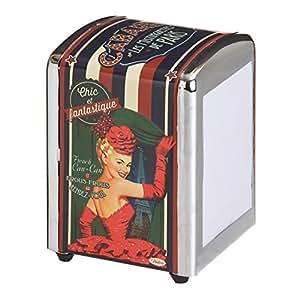 Natives comptoir de famille french 1950s vintage retro cabaret de paris paper napkin serviette - Comptoir de famille paris ...