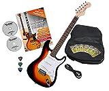 Rocktile Sphere Classic Guitare Électrique Sunburst avec accessoires