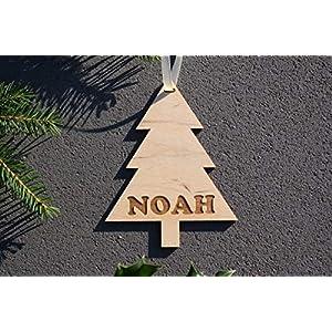 Weihnachtskugel mit Namen in Wunschfarbe– Weihnachtsbaum – Christbaumkugel Christbaumschmuck Weihnachtsbaumkugel