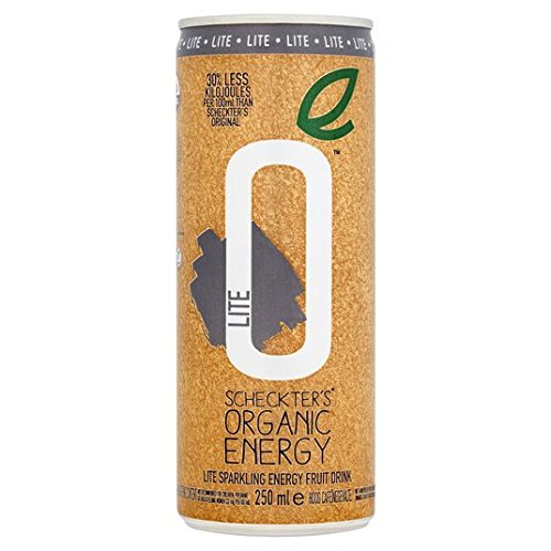 Lite Organic Natural Energy Drink 250ml de Scheckter