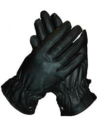 EyeCatch TM - Kendal Damen Premium Echtleder Handschuhe mit Fell gefüttert