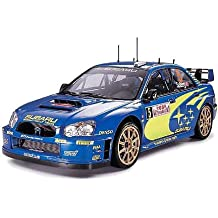 Tamiya 24281 - Maqueta Para Montar, Coche Subaru Impreza WRC Año 2005 Montecarlo Escala 1